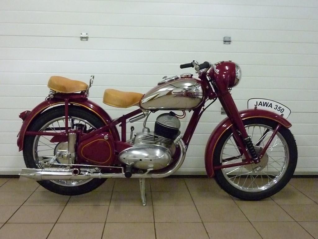 Motocykl, pravobok