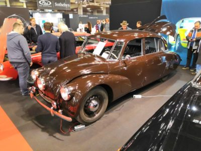 Výstava Retromobile 2019